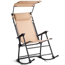 Folding Rocking Chair Rocker Porch Zero Gravity Patio Furniture W/Canopy  Beige Gci Outdoor Freestyle Rocker Portable Folding Rocking Chair Smooth Glide Lweight Padded For Indoor And Support 300lbs Lacarno Patio Festival Beige Metal Schaffer With Cushion Us 2717 5 Offrocking Recliner For Elderly People Japanese Style Armrest Modern Lounge Chairin Outsunny Table Seating Set Cream White In Stansport Team Realtree 178647 Wooden Gci Ozark Trail Zero Gravity Porch