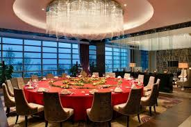 Chinese Restaurant VIP Private Dining Room Kempinski Hotel Yixing Designed By HBA