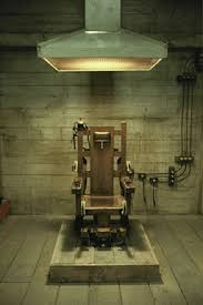 chaise lectrique chaise électrique pour les condamnés à mort de la prison i