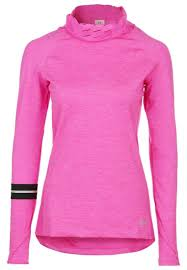 under armour layered up long sleeved top pink layered up