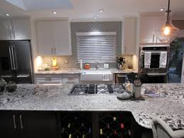 Love this look Meteor Shower granite for the countertops with