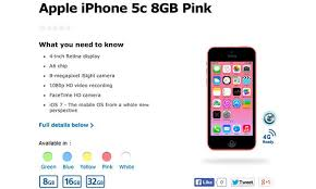 Apple s 8GB iPhone 5c offers just 3 7GB less storage than