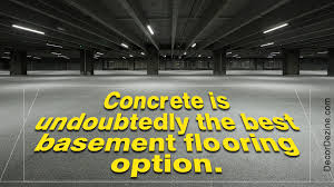 A List Of The Best Basement Flooring Options With Pictures