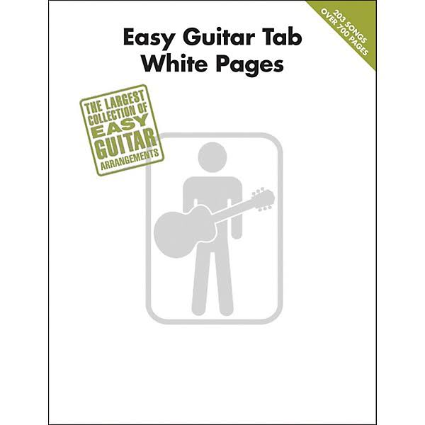 Hal Leonard Easy Guitar Tab White Pages Songbook - Hal Leonard