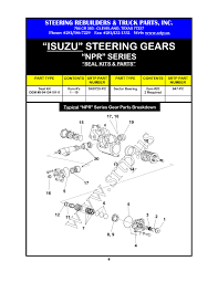 Steering Rebuilders & Truck Parts, Inc. - NIPPON STEERING GEARS Penjualan Spare Part Dan Service Kendaraan Isuzu Serta Menjual New And Used Commercial Truck Sales Parts Service Repair Home Bayshore Trucks Thorson Arizona Llc Rental Dealer Serving Holland Lancaster Toms Center In Santa Ana Ca Fuso Ud Cabover 2019 Ftr 26ft Box With Lift Gate At Industrial Isuzu Van For Sale N Trailer Magazine Reefer Trucks For Sale 2004 Reefer 12 Stock 236044 Xbodies Tpi