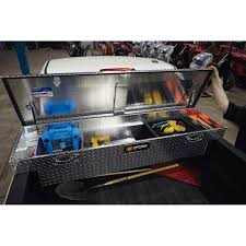Northern Tool 71in. Crossover Low Profile Truck Tool Box-Diamond ... Crossover Truck Tool Boxes Northern Equipment Locking Widestyle Chest Box Side Mount Amazoncom 41911 Automotive Edmton Best Teal Norrn Alinum Diamondplate The Images Collection Of Box Tool Accsories Northern Stainless Steel Truck Diamond Deep With Pushbutton Equipment Wheel Well