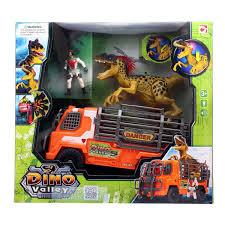 100 Dino Trucks Valley Truck Saur Playset Jurassic Park Action Toy Battle