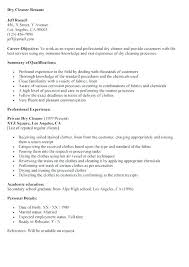 Professional Cleaner Resume Template Office Cleaning Assistant