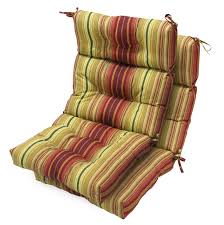 High Back Patio Chair Cushions by Furniture Beautiful High Back Patio Chair Cushions Design Ideas