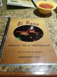 El Patio Dyersburg Tn Lunch Menu by Burrito Verde Picture Of El Patio Dyersburg Tripadvisor