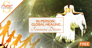 Mas Sajady In Person Global Healing Feminine Divine