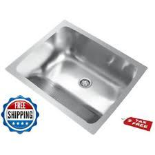 drop in top mount home sinks laundry utility ebay