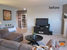 Unthinkable Decorate Wall Behind Tv In Conjunction With Decorating How