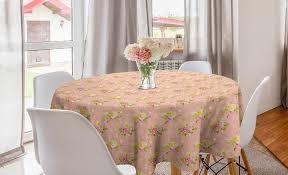 abakuhaus tischdecke kreis tischdecke abdeckung für esszimmer küche dekoration shabby chic braut roses alt kaufen otto