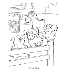 Good Farm Animal Coloring Pages 80 For Free Book With