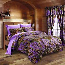 Purple Camo Bathroom Sets by Camo Curtains Ebay
