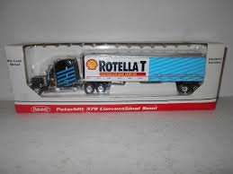 Shell Oil Rotella T Die Cast Peterbilt 379 Semi Truck Coin Bank By ...