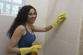 solutions for cleaning ceramic tile in the shower home guides