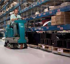 Automatic Floor Scrubber Detergent by T7 Micro Rider Floor Scrubber
