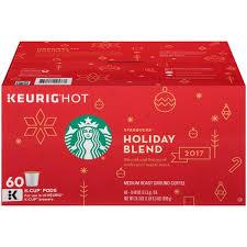 Starbucks 2017 Holiday Blend Medium Roast Costco Only Ground Coffee