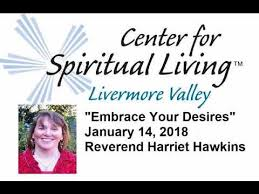 Embrace Your Desires January 14 2018 Reverend Harriet Hawkins