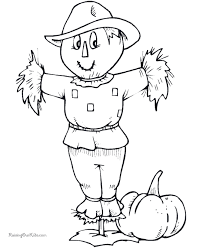 Coloring Pages Printable Thanksgiving Paper Book To Print Design Gift Decoration Clothes Simple Unique Halloween