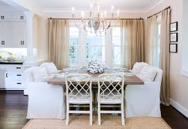 Ideas for dining room curtains dining room shabby chic style with
