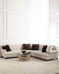 American Style Regional Home Use Chesterfield Corner Sectional