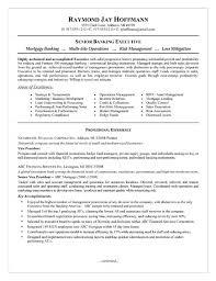 Sample Bank Manager Resume