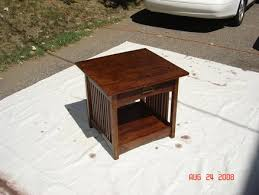 mission style end table plans plans diy free download free