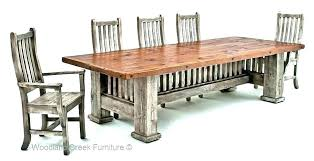 Mission Style Dining Room Set Craftsman Furniture