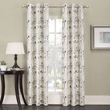 Grommet Top Curtains Jcpenney by Sun Zero Easton Thermal Lined Grommet Top Curtain Panel Jcpenney