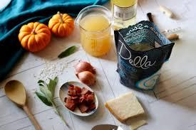 Pumpkin Risotto Recipe Easy by Pumpkin Risotto With Bacon Crumbles U0026 Sage Della Rice