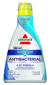 Antifungal Spray For Carpet by Amazon Com Bissell Deep Clean Antibacterial Carpet Cleaning