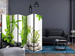 büromöbel deko paravent raumteiler bambus spa trennwand