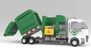 100 Trash Trucks In Action We Finally Did It An Actual Working LEGO Automated Side Loading