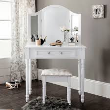 Ebay Dresser With Mirror by White Dressing Table With Drawers Mirror And Stool Vanity Decoration