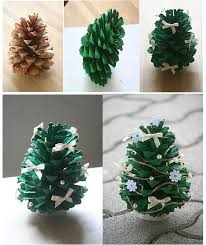Pine Cone Christmas Tree Ornaments Crafts by Diy Pine Cone Christmas Tree Pine Cone Christmas Tree Pine Cone