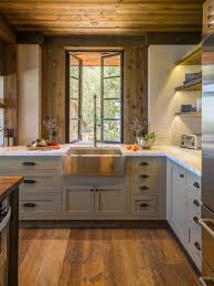 Mid Sized Rustic Kitchen Ideas