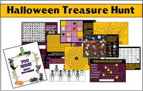 Halloween Scavenger Hunt Clue Cards by 100 Halloween Treasure Hunt Ideas I Am Momma Hear Me Roar