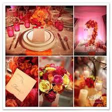 Spring Table Centerpieces Pink Arrangements Orange Wedding