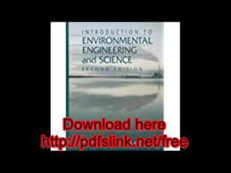 Download Introduction To Environmental Engineering And Science 2nd Edition PDF