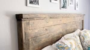 Lovely Design Ideas Wood Headboards Diy Pallet Rustic Reclaimed