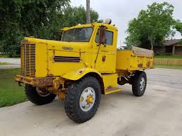 BangShift.com 1950 Oshkosh W-212 Dump Truck For Sale On EBay