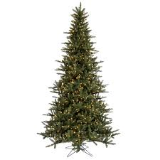 Realistic Artificial Christmas Trees Canada by Lighted Artificial Christmas Trees 14 16 Ft Christmas Trees