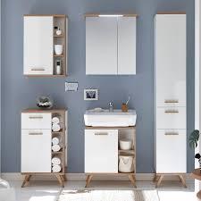 badezimmer möbel set malanje 66 badmöbel komplett set in weiß glänzend