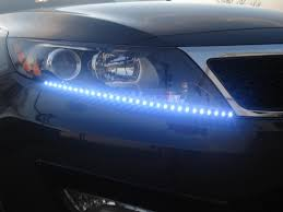 Add On LED Light Strips - What Do You Think? - Kia Forum Trucklite Generation 2 Led Headlights Phase 7 4x4ovlander 60cm Drl Fxible Led Tube Strip Style Daytime Running Lights Tear Kits Similar To Hid For Headlightsfog Plugn 2018 Ford F150 Platinum Headlight Upgrade Kit Trucklite Round Headlamp 80275 Passing Installing Headlights In 2014 Gmc Sierra Better Automotive Easy Guide Install Strips Over Xr5 H13 Performance Lighting Ltd 200408 Cree Head Light F150ledscom For Truck Best In The Www