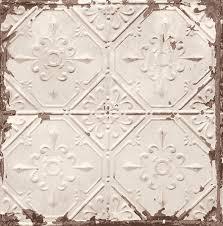 vintage tin ceiling tiles faux pattern wallpaper