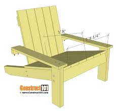 Pallet Adirondack Chair Plans by Awesome Simple Adirondack Chair And Pallet Adirondack Chair