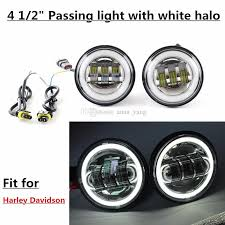 2018 4 5 inch led fog lights projector auxiliary daymaker